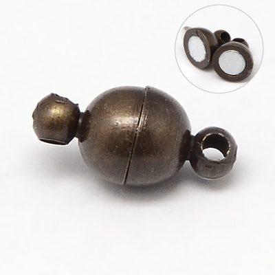 Antique Bronze Magnetic Clasp