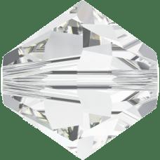 Crystal Swarovski Bicone Crystal Beads (5328) - 8mm 2