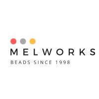 Melworks Online Beads Logo